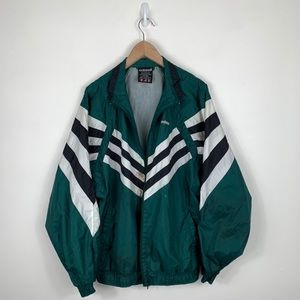 Adidas Nylon Windbreaker Track Jacket